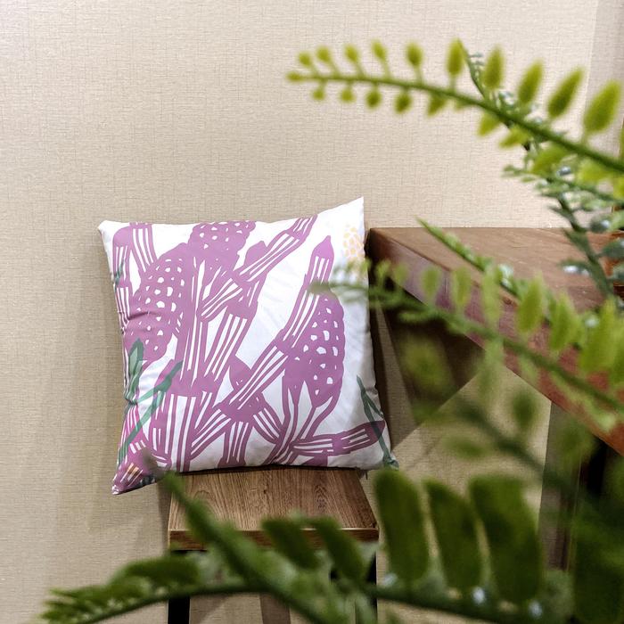 (複製)FERN ONLY|蕨類柔軟抱枕套-南洋山蘇花