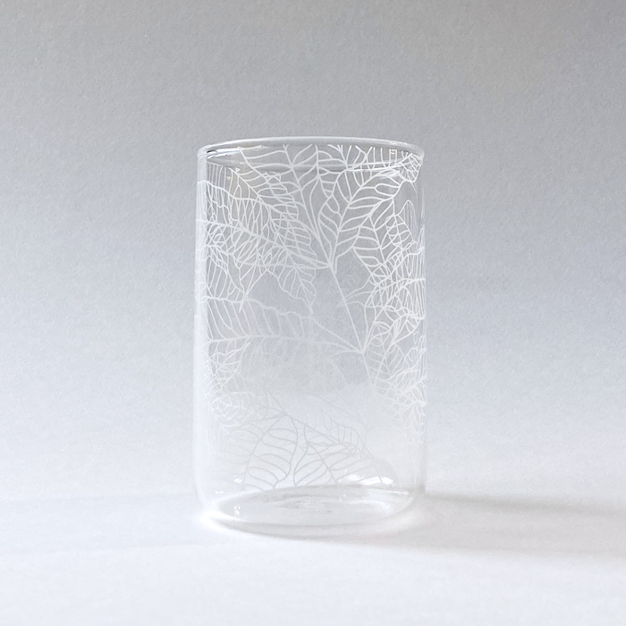 (複製)FERN ONLY|蕨飲玻璃杯-矮款-臺灣原始觀音座蓮