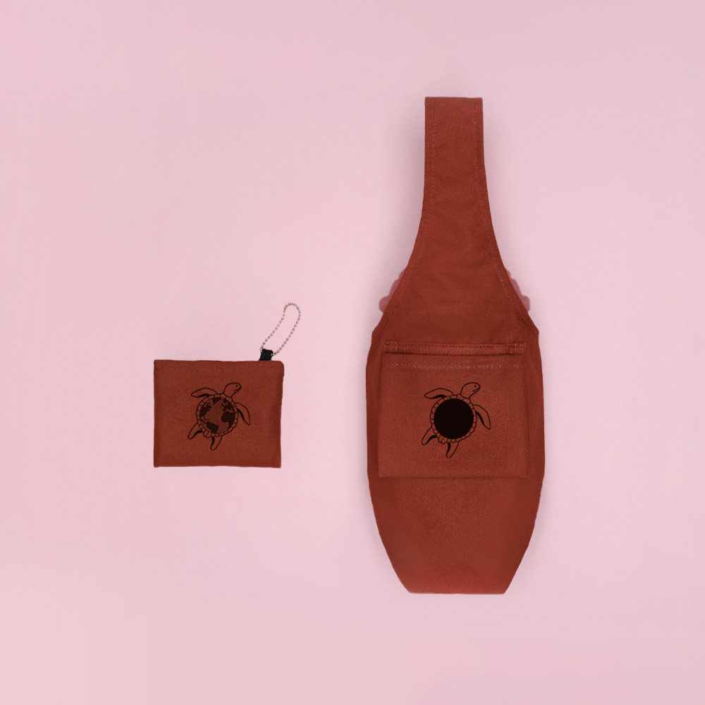 YCCT|環保飲料提袋包覆款 - 喵星人 (10色可選)