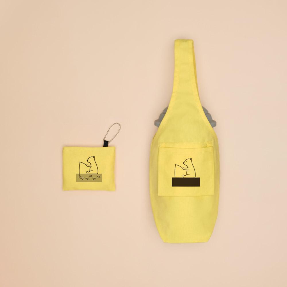 YCCT|環保飲料提袋包覆款 - 鯨魚 (10色可選)