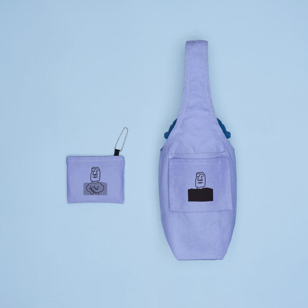YCCT|環保飲料提袋包覆款 - 摩艾小鮮肉 (10色可選)