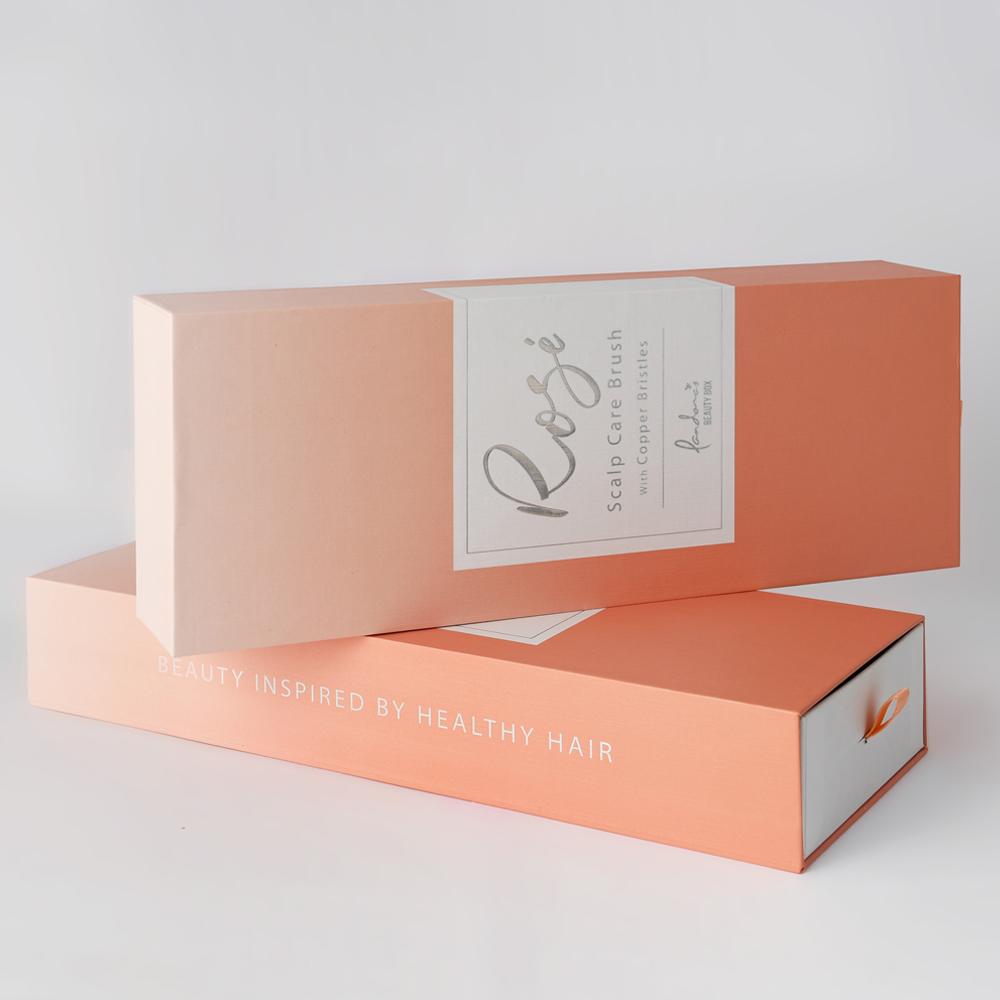 Pandora's Beauty Box Rosé銅離子頭皮養護梳