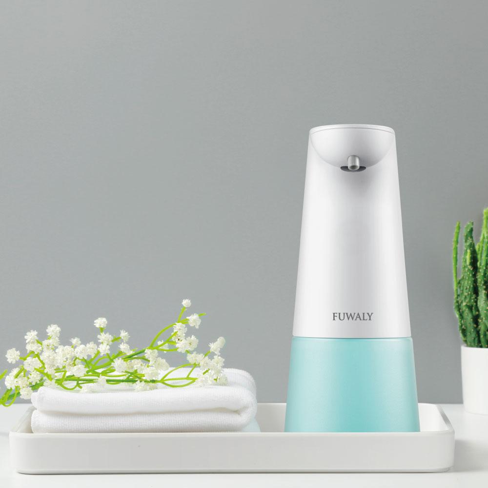 Fuwaly|泡沫式自動感應洗手機 給皂器-藍色
