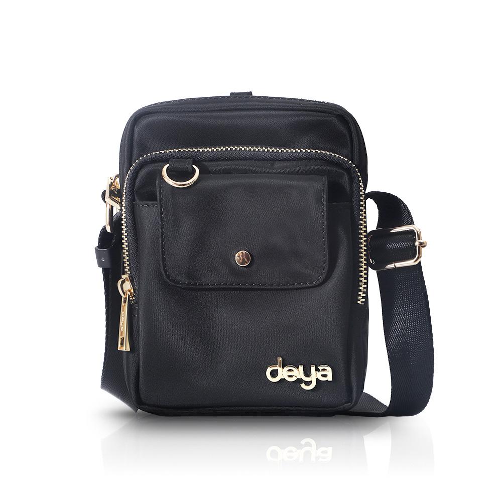 deya|chic系列 渾然經典-mini小包 - 黑色