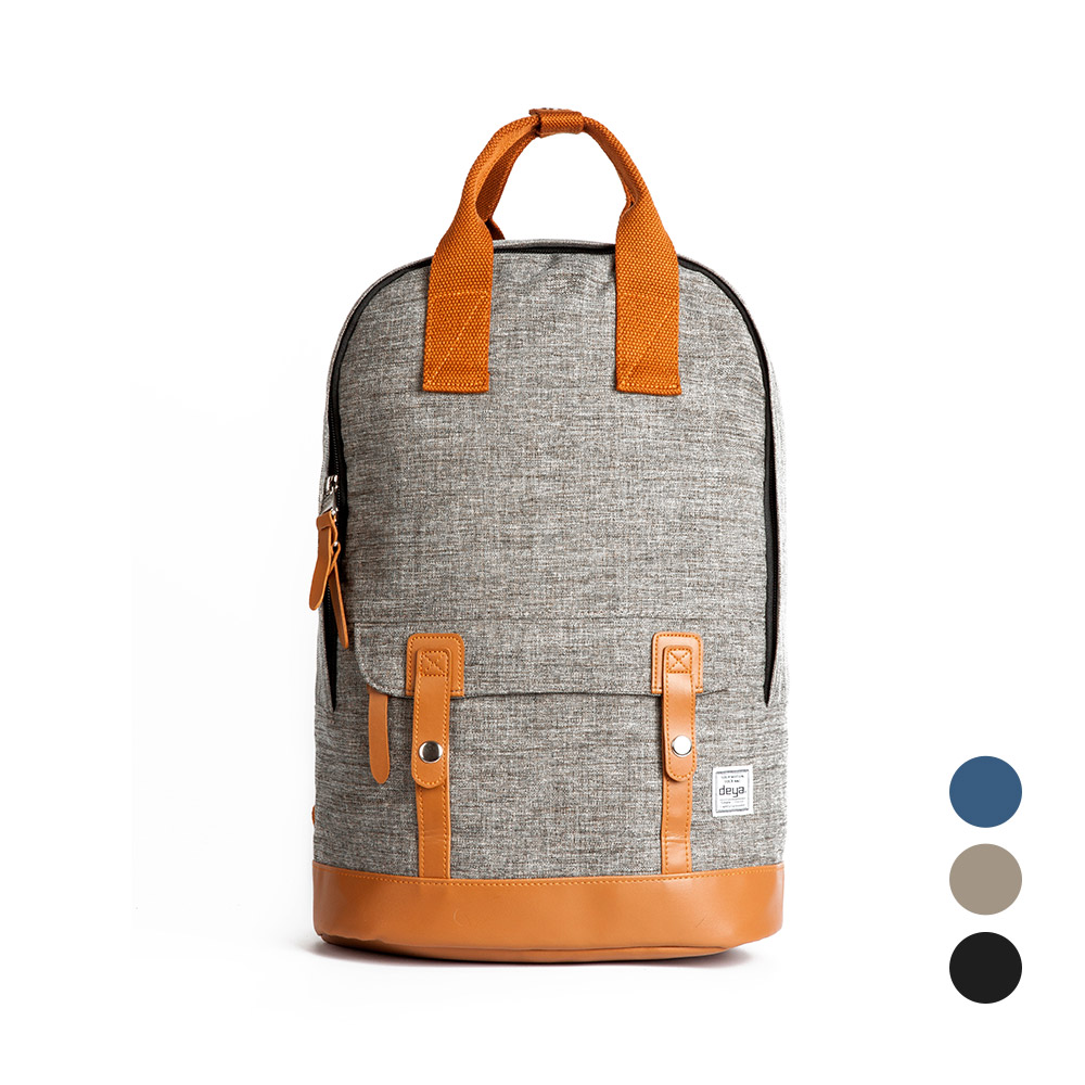 deya 都會型格輕量後背包-三色可選