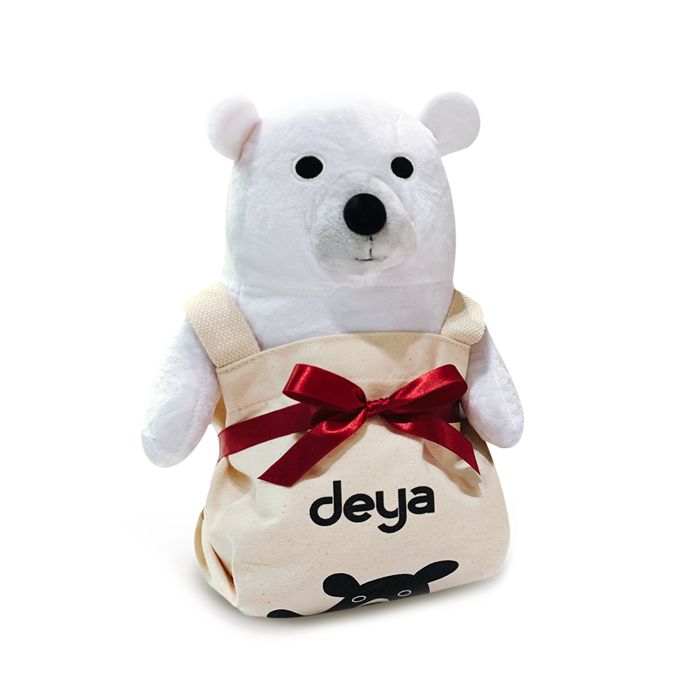 deya|聖誕限定包裝-12吋deya熊提袋組合