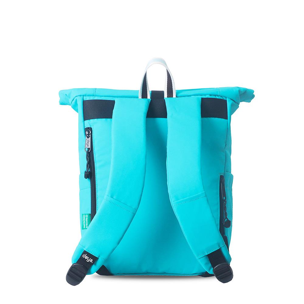 deya|海洋回收捲式後背包(中) - 兩色可選(台灣製)