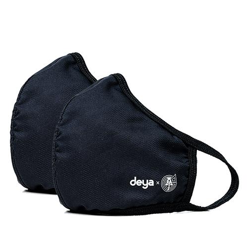 deya|3D立體涼感抗菌布口罩 - 兩色可選(二入)