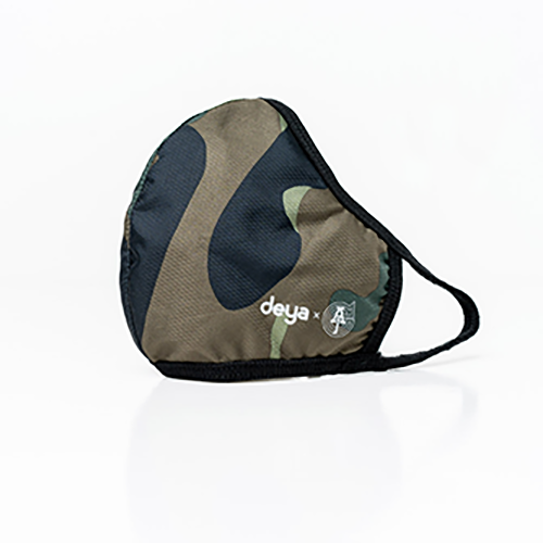 deya 3D立體涼感抗菌布口罩(兩色可選)