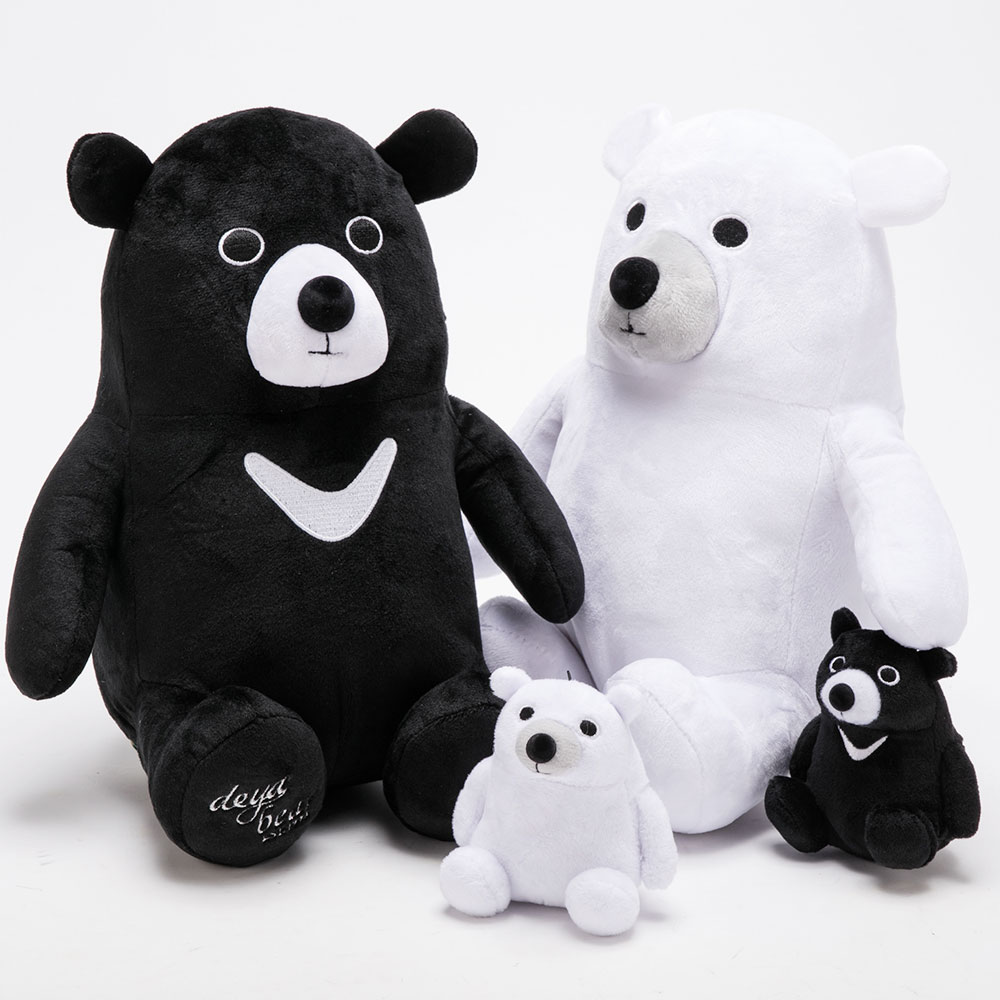 deya|聖誕限定包裝-12吋deya熊提袋組合-熊熊雙入組