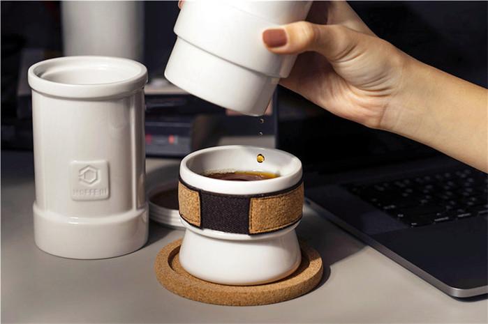 HOFFEE III 好茶咖啡壺|首款結合滴漏與浸泡的絕妙設計