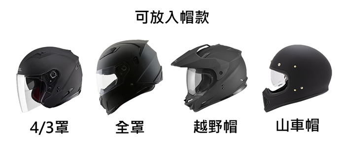 UGET2|ROROBAG 捲捲帽包 專屬機車的擴充包 (消光黑)
