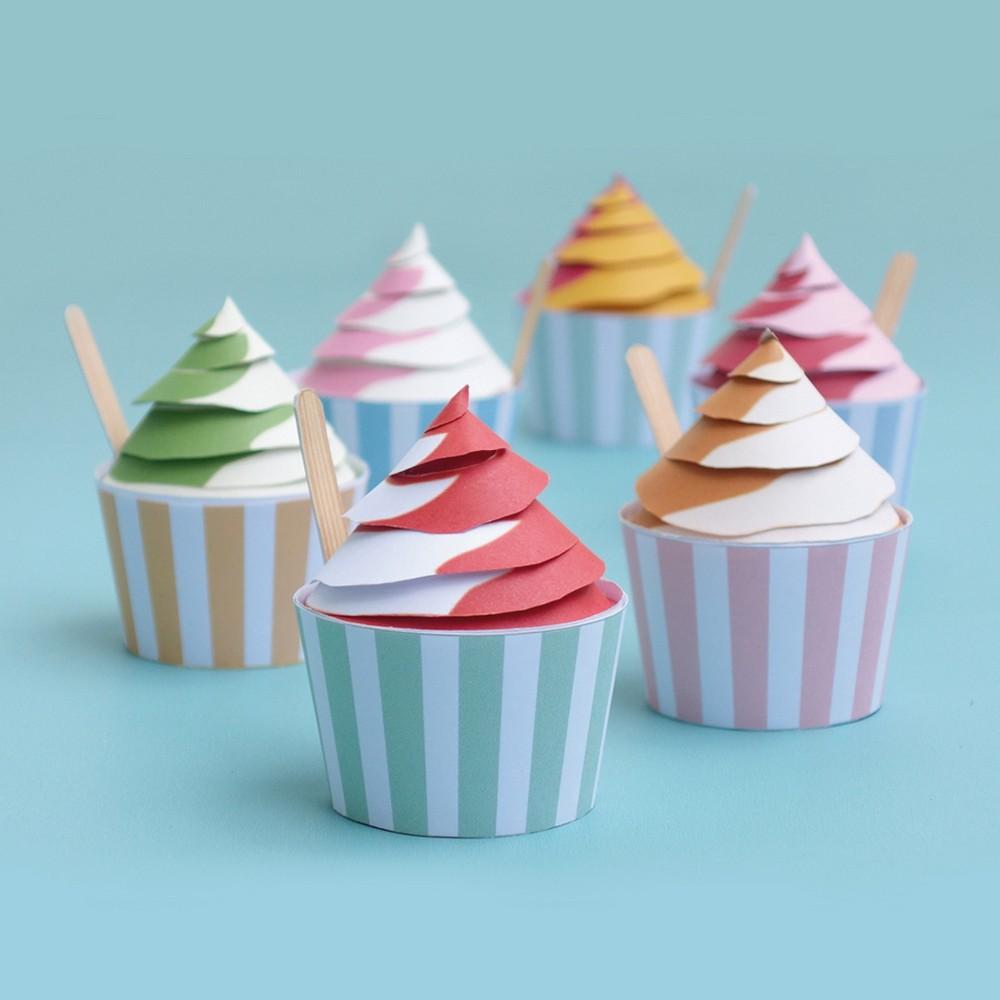 Sophie et Martin|創意摺紙(冰淇淋)