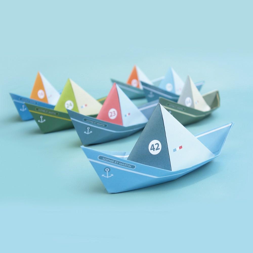 Sophie et Martin|創意摺紙(漂浮小船)