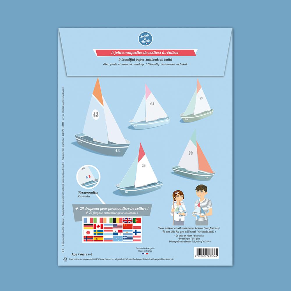 Sophie et Martin|創意摺紙(帆船)