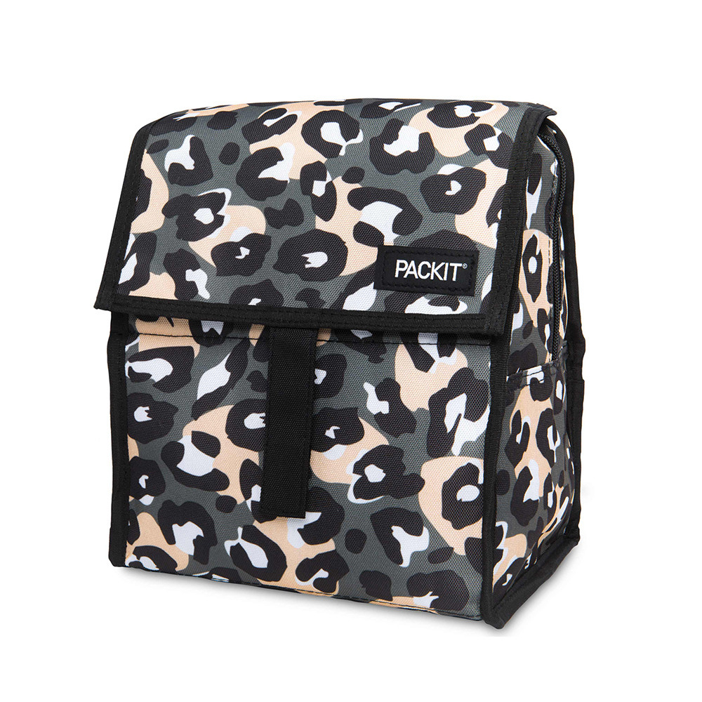PACKIT|冰酷 新多功能冷藏袋(摩卡灰豹)