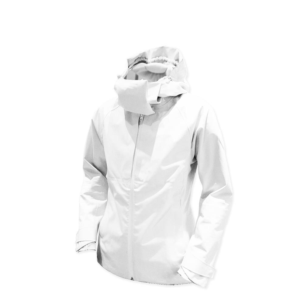 AirOgo Pilloon 多用途內附頸枕旅行外套 (男款) - 極地白