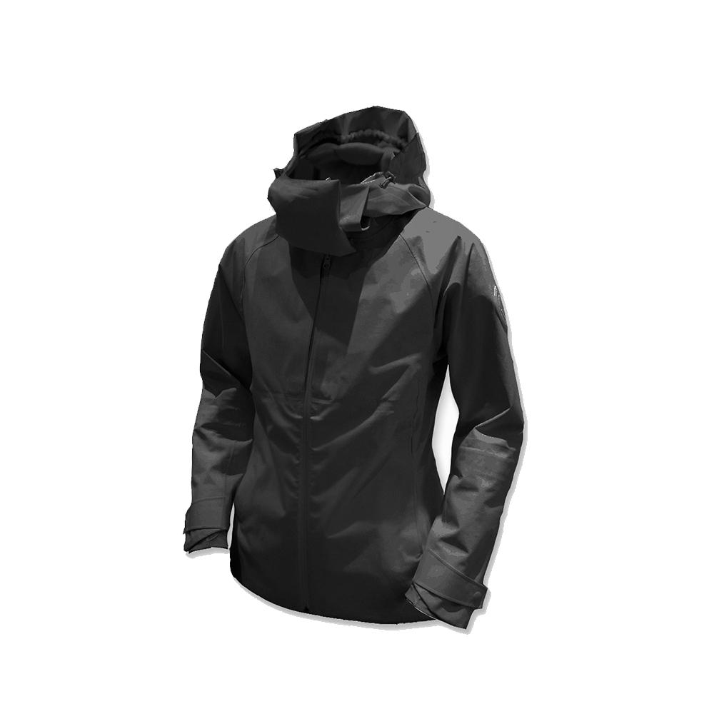 AirOgo|Pilloon 多用途內附頸枕旅行外套 (女款) - 太空黑