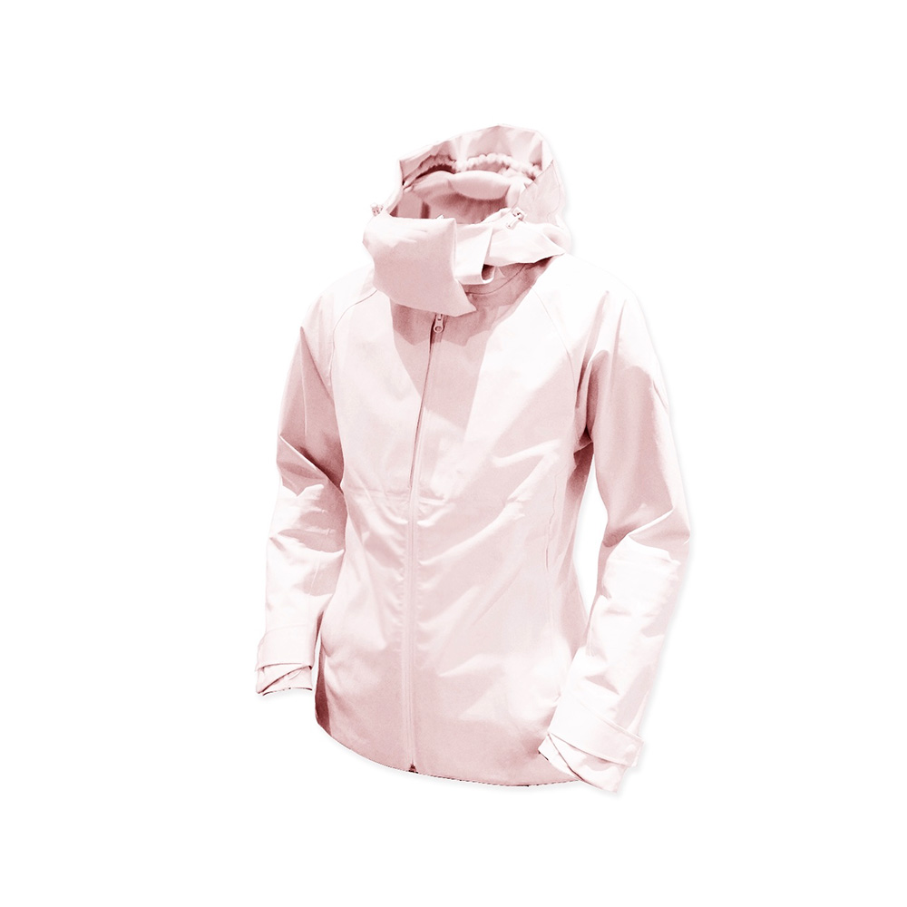 AirOgo|Pilloon 多用途內附頸枕旅行外套 (女款) - 喜馬拉雅粉