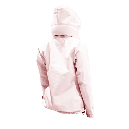 AirOgo Pilloon 多用途內附頸枕旅行外套 (女款) - 喜馬拉雅粉