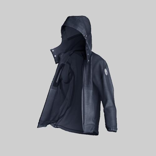 AirOgo|Ultralight Pilloon 多用途內附頸枕旅行外套 (男款) -   寂靜藍