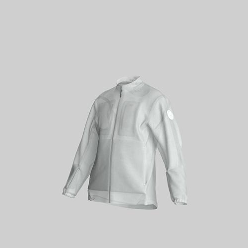AirOgo|Ultralight Pilloon 多用途內附頸枕旅行外套 (男款) -   微風白