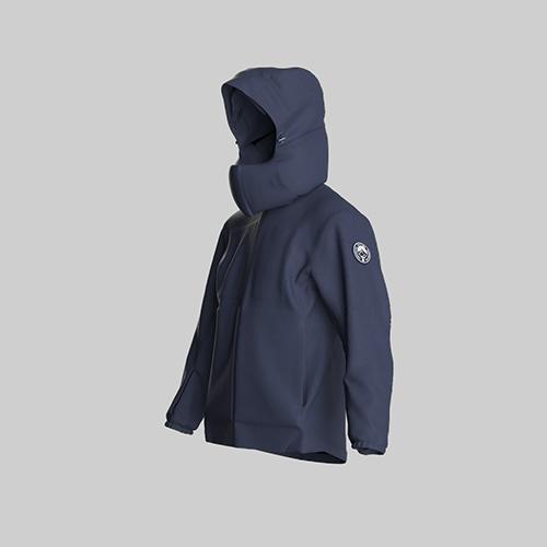 AirOgo Ultralight Pilloon 多用途內附頸枕旅行外套 (女款) -   寂靜藍