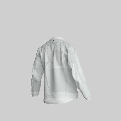 AirOgo Ultralight Pilloon 多用途內附頸枕旅行外套 (女款) -   微風白