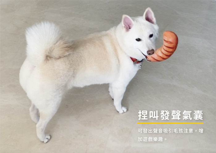 (複製)LINGO | 絨毛仿真法國麵包 寵物玩具