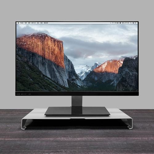 ENABLE|極簡 鋁合金 螢幕架/鍵盤收納/筆電座 多用途支架