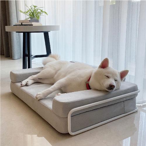 LINGO|多功能寵物床(簡約灰)