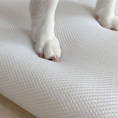 LINGO|3D透氣寵物睡墊 (簡約灰) L