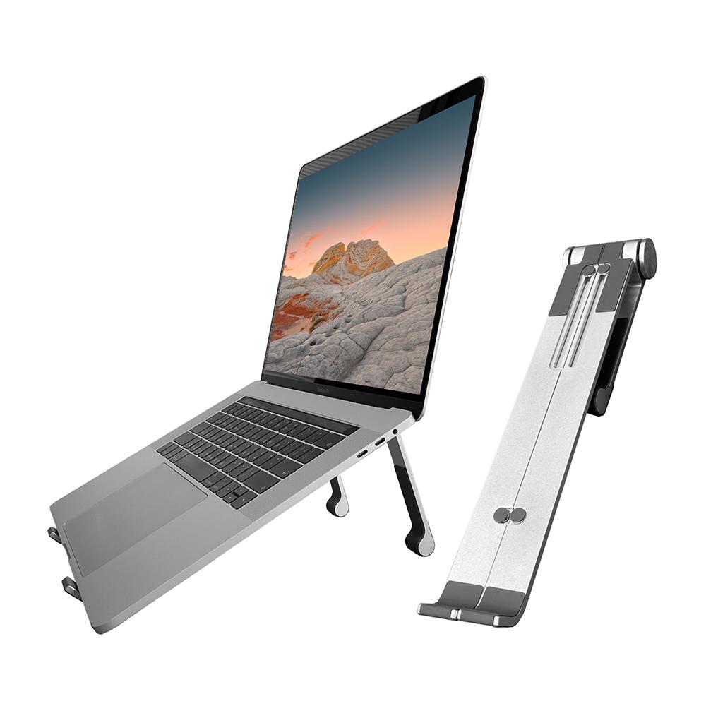ENABLE 折疊式 鋁合金筆電支架/散熱座/增高座