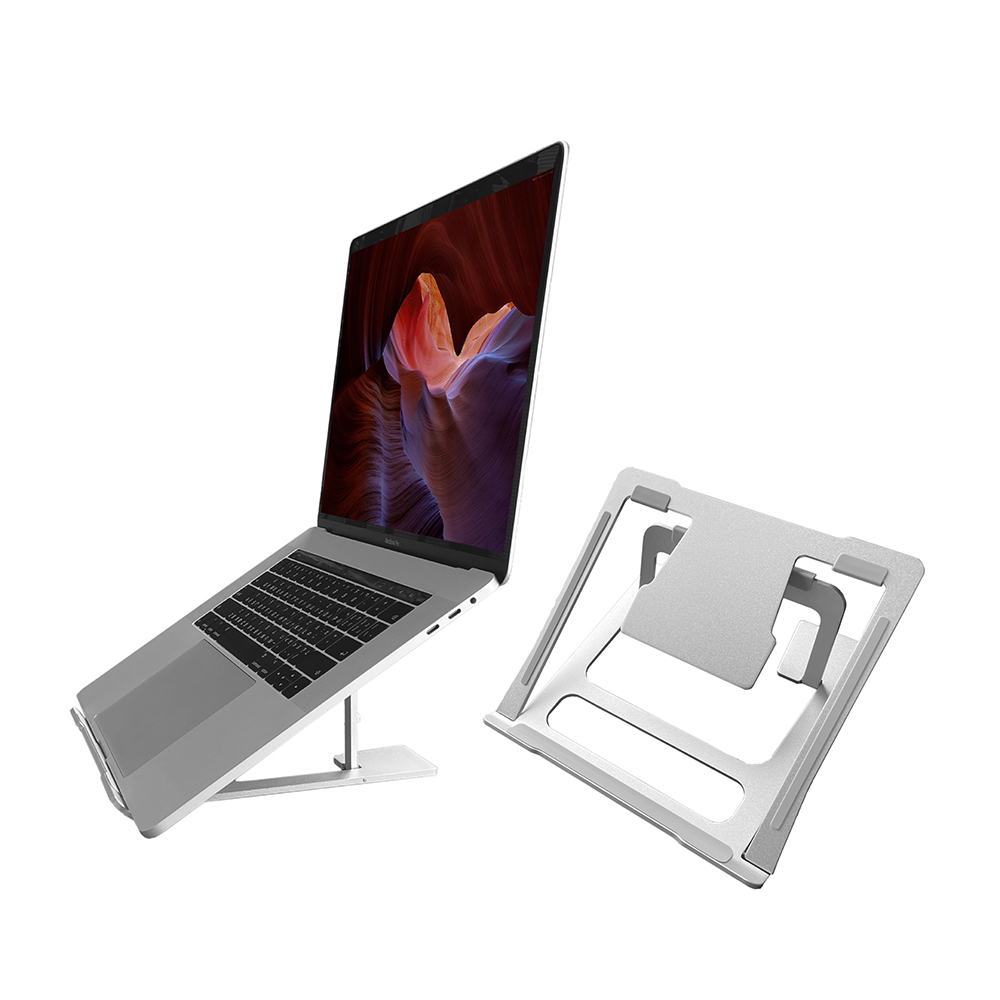 ENABLE 收折式 鋁合金筆電支架/散熱座/增高座