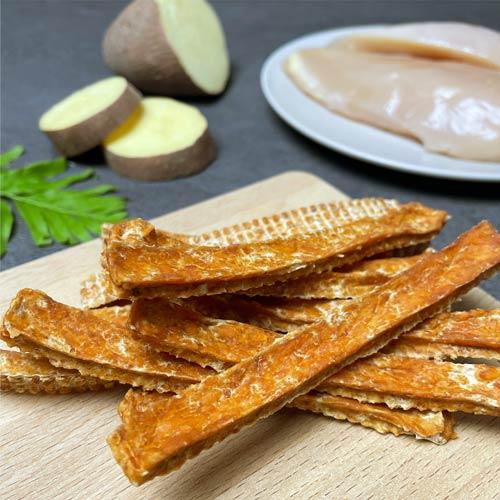 LINGO 雞肉甜薯條 天然手工寵物零食