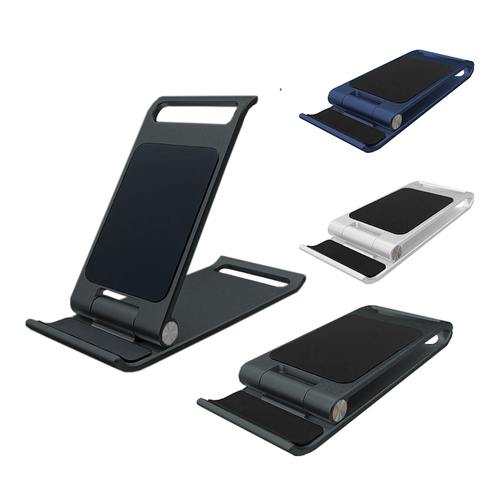 ENABLE 輕薄 收折式 鋁合金手機&平板桌面支架