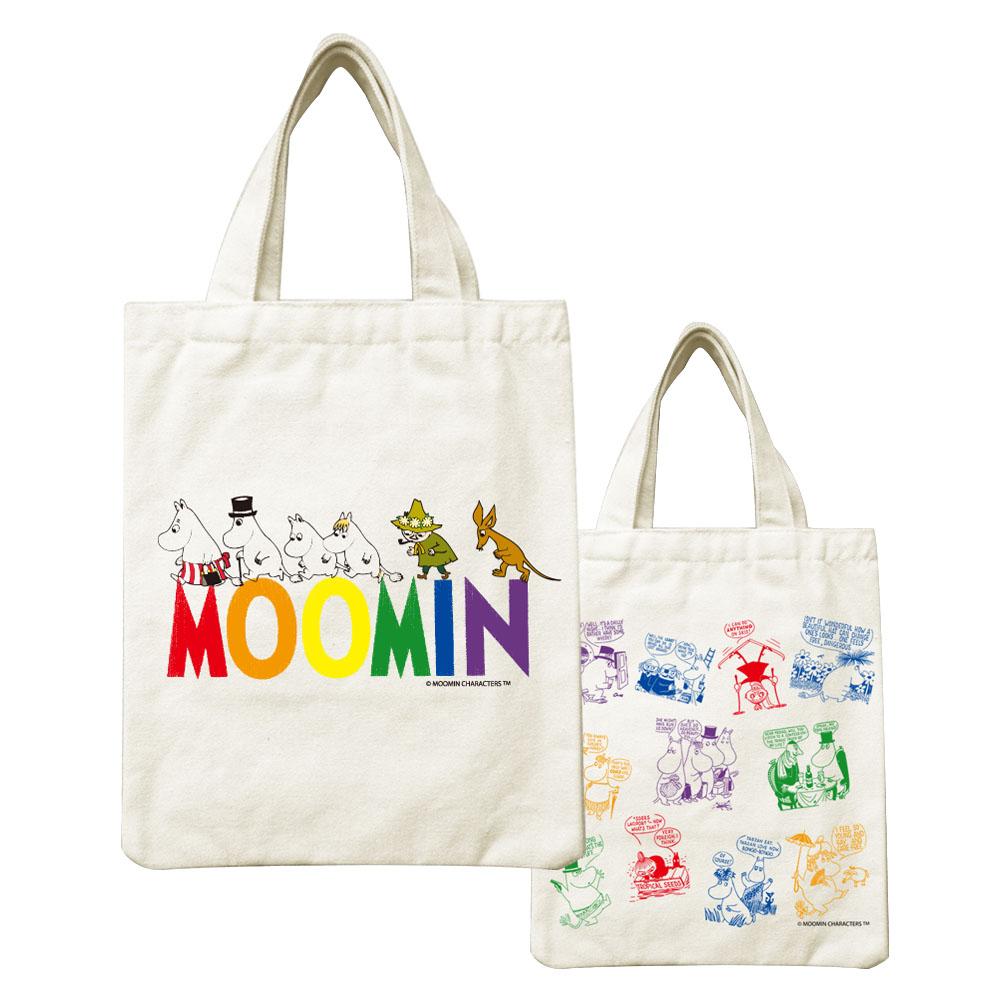 YOSHI850|Moomin嚕嚕米正版授權:小帆布包【Happy Family】