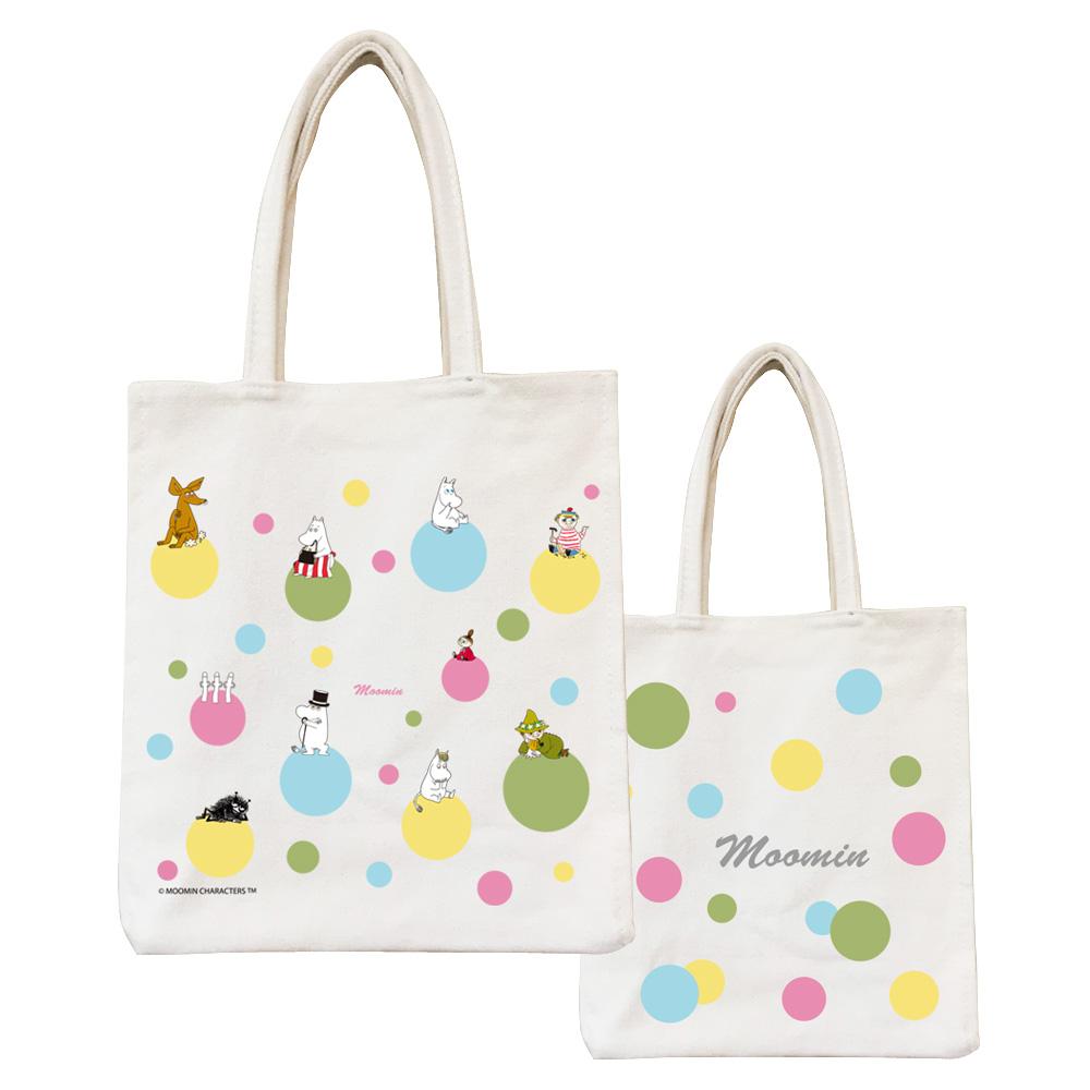YOSHI850|Moomin嚕嚕米正版授權:野餐包【04 彩虹泡泡】