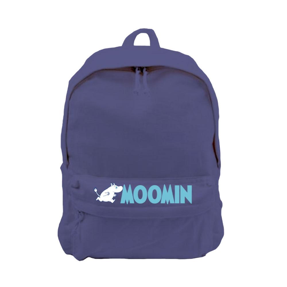YOSHI850|Moomin嚕嚕米正版授權:新款拉鍊後背包系列02(藏藍) -CE16AE02