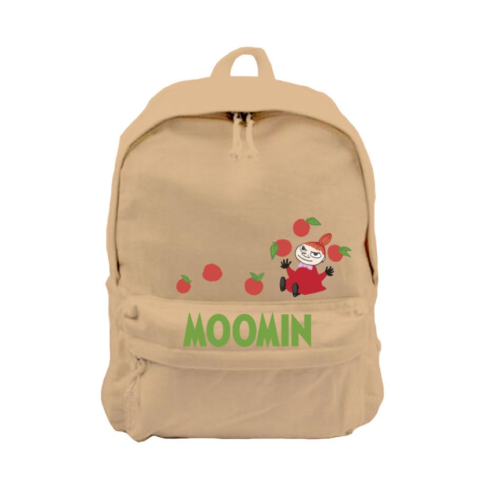 YOSHI850|Moomin嚕嚕米正版授權:新款拉鍊後背包系列04(卡其) -CE16AE04