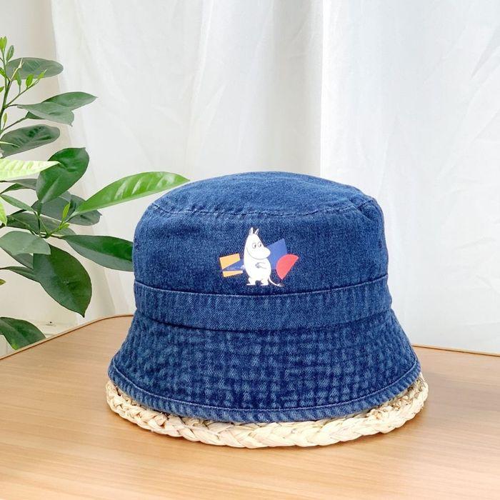 (複製)我適文創 MIFFY米飛兔 夏日防曬 牛仔漁夫帽 深藍/淺藍