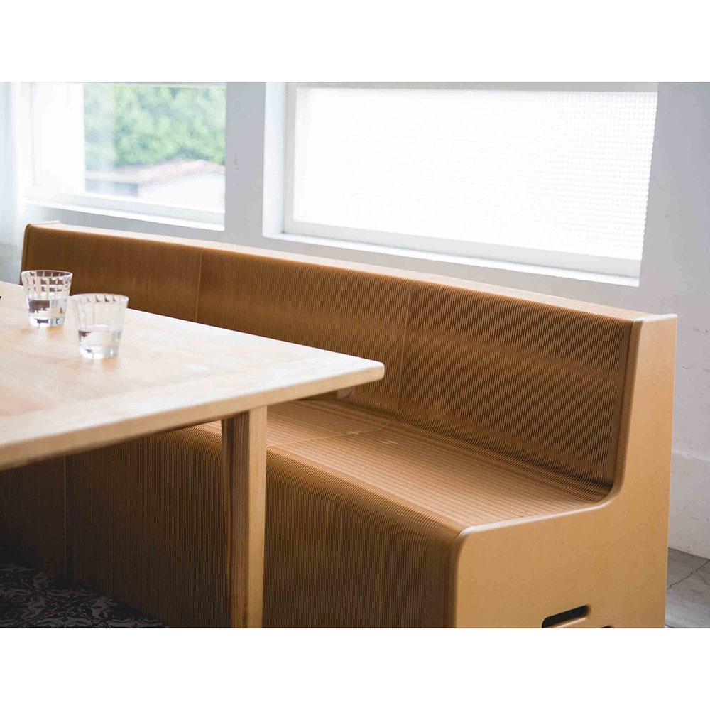 洛陽紙櫃|Flexible furniture Virgin (淺牛色牛皮紙)