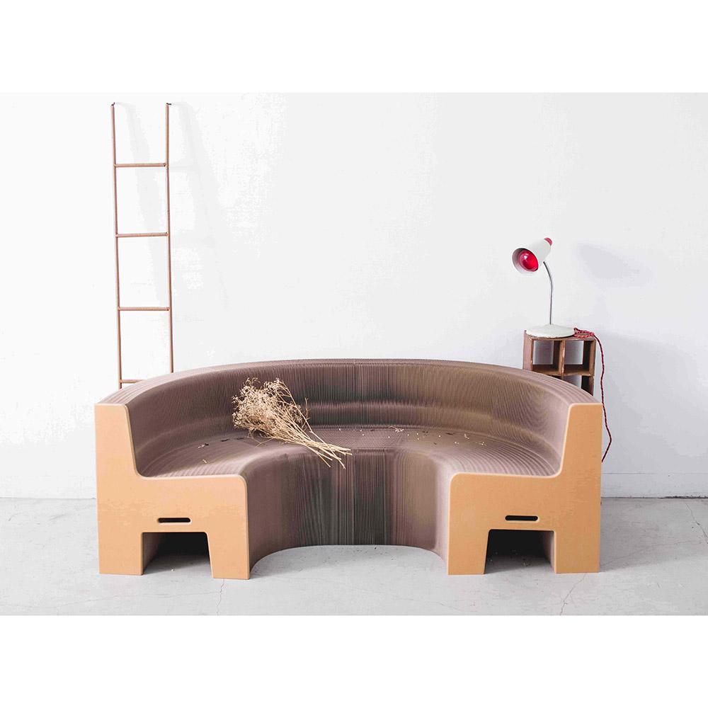 洛陽紙櫃|Flexible furniture Earth (再生紙)