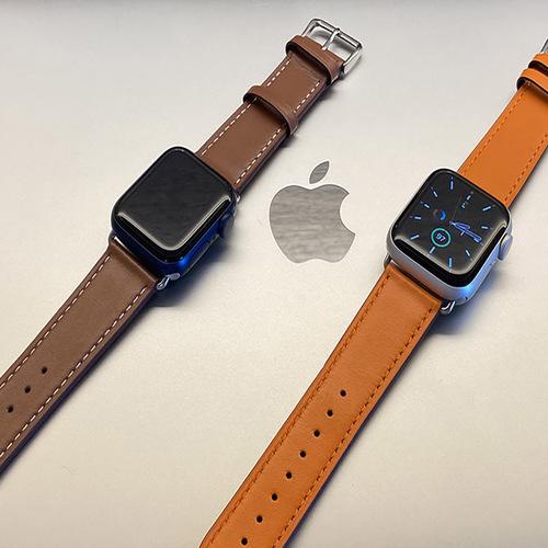 VAP Apple Watch 42/44mm適用 真皮錶帶(長版)