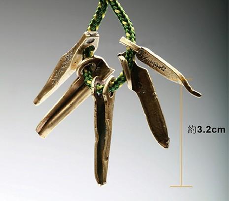 SAC|Set Rock PitonsI #20 青銅鑰匙圈掛飾 岩釘