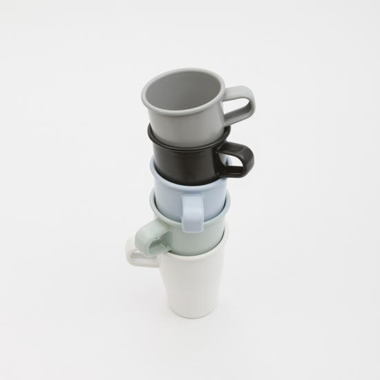 Platchamp|日本製琺瑯杯 乳白