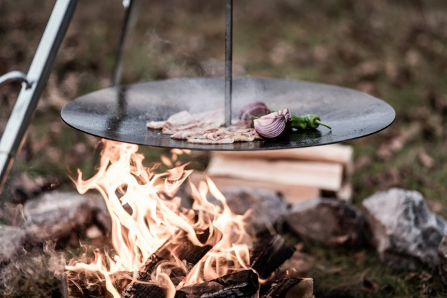 Petromax|Hanging Fire Bowl for Cooking Tripod 吊掛式鍛鐵烤盤