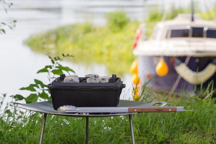 Petromax|za2 BBQ and Coal Tongs 木柄火夾 54cm 通過德國食品安全認證(LFGB)