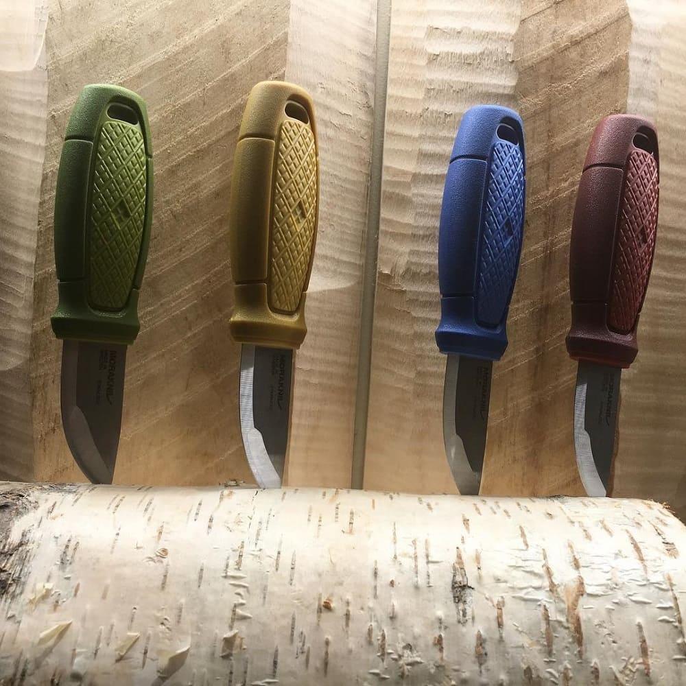 MORAKNIV|Eldris 不鏽鋼短直刀(藍)