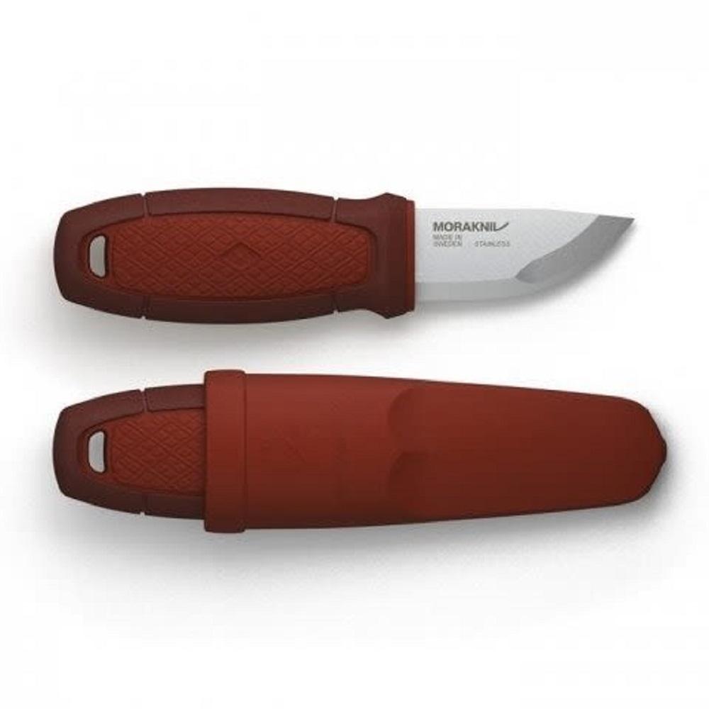 MORAKNIV|Eldris 不鏽鋼短直刀 (紅)